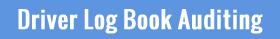 CDL Driver Log Book Auditing
